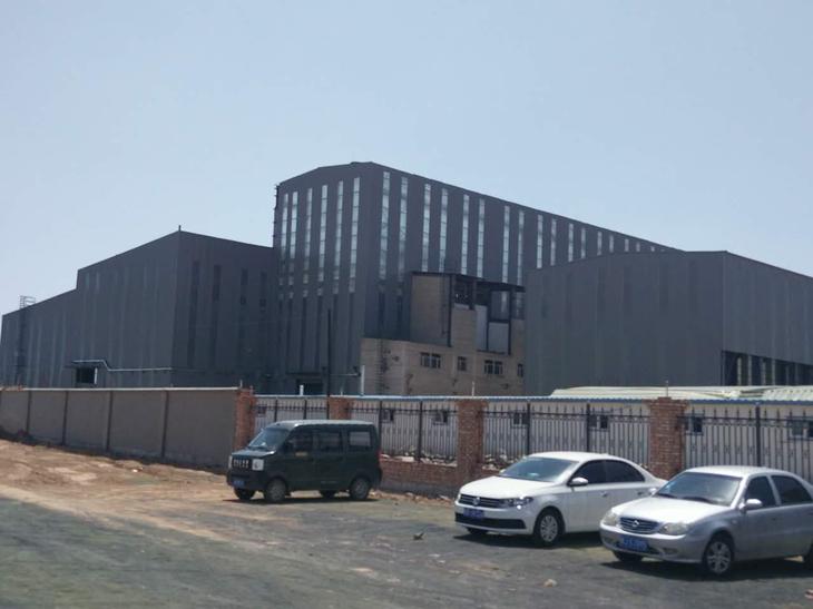 天烁材料科技有限公司一期厂房建设