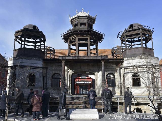 """紫禁城延禧宫里的""""烂尾楼"""",中国现存的古代钢结构建筑"""