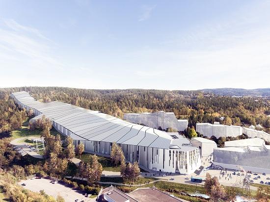 芬琳漆守护着世界最大的室内滑雪中心钢结构