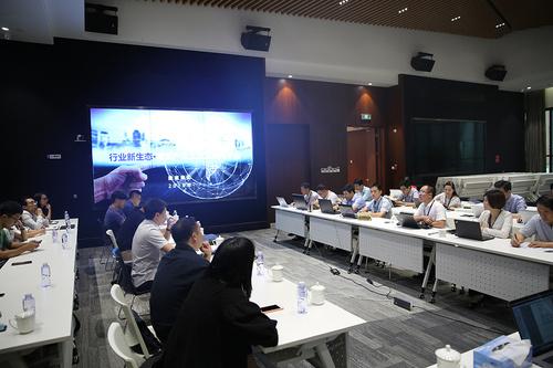 中元设计院到访建谊集团参加装配式钢结构交流研讨会